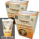 2x Fruchtfliegen-Lebendfalle Trapango, (2er-Pack)