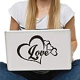 Liebe Herz Symbol Computer Aufkleber Vinyl selbstklebend wasserdicht Laptop Aufkleber niedlich...