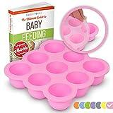 KIDDO FEEDO - Der original Portionierer zum Einfrieren von Muttermilch und Babykost mit...