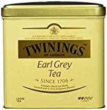 Twinings Earl Grey große Dose - hochwertiger Schwarzer Tee lose - Schwarztee mit Bergamotte Aroma -...