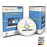 Microsoft Windows 7 Professional Pro. Original-Lizenz 64 Bit. Deutsch und ML. Audit Sicher, S2-ISO...
