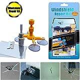 Manelord Auto Windschutzscheiben Reparaturset Werkzeug, Windshield Repair Kit für PKW Chip und...