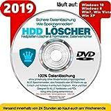 Festplatten Löscher & Formatiere, Datenvernichter, Sichere Datenlöschung 'Alle Speichermedien' NEU