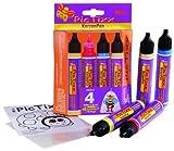 Kreul 49790 - PicTixx Kerzenpen Set, Flüssigwachs zum Beschriften, Verzieren und Bemalen von...