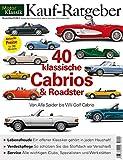 Motor Klassik Kaufratgeber - 40 klassische Cabrios & Roadster