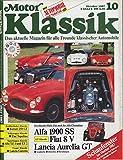 Motor-Klassik 10/1987,Alfa Romeo 1900 SS,Fiat 8 v,Lancia Aurelia B 20 GT,Kaufberatung Lancia Gamma...