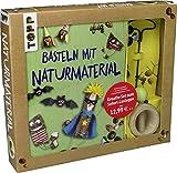 Kreativ-Set Basteln mit Naturmaterial: Buch mit Grundlagen und Bastelideen sowie Kastanienhalter und...