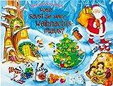 Wohin saust die kleine Weihnachtsmaus?: Mein großes Spurbuch