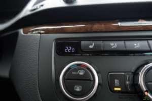 Temperatureinstellung für Auto Klimaanlage