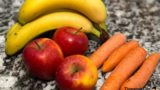 Abnehmen mit Bananen, Äpfel und Karotten