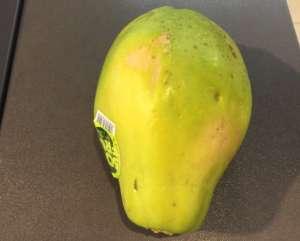 Papaya nachreifen lassen