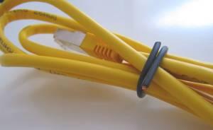 Kabel gebunden - (Foto: Markus Schraudolph)