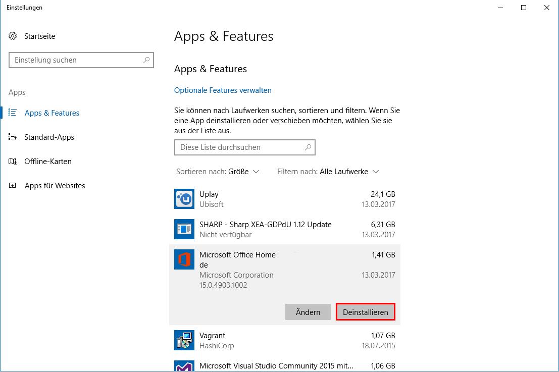 Windows 8 Spiele deinstallieren yahoo