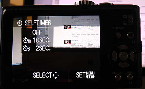 Selbstauslöser-Einstellung in Kamera-Menü - (Foto: Martin Goldmann)