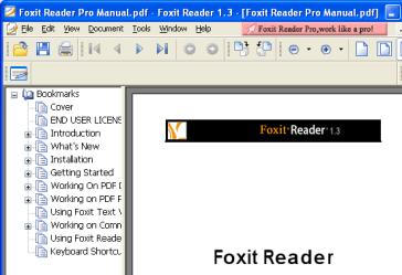 Foxit Reader 1.3