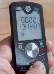 Mobiltelefon Motorola F3 - (Foto: Markus Schraudolph)