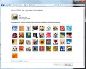 Windows 7: Hier ändern Sie das Bild, das bei der Anmeldung zu sehen ist
