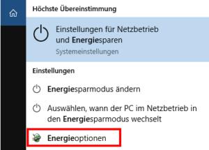 Energieoptionen