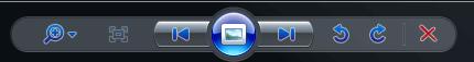 Symbole zum Bilder drehen in der Windows-Vorschau