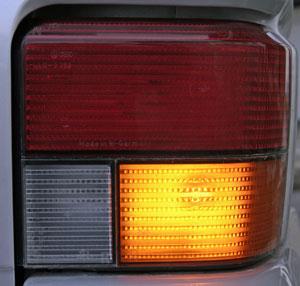 Blinker VW Bus T4 - (Foto: Markus Schraudolph)