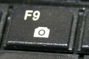 Funktionstaste Webcam - (Foto: Markus Schraudolph)