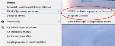 Nvidia Optimus Grafikkartenauswahl