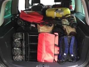 Urlaub mit dem Auto bedeutet einen vollen Kofferraum
