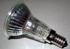 Halogenlampe mit Schraubsockel - (Foto: Markus Schraudolph)