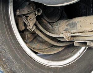 Bremsanlage an einem PKW