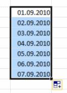 Datumsbereich fertig