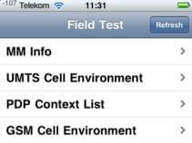 iphone testmodus