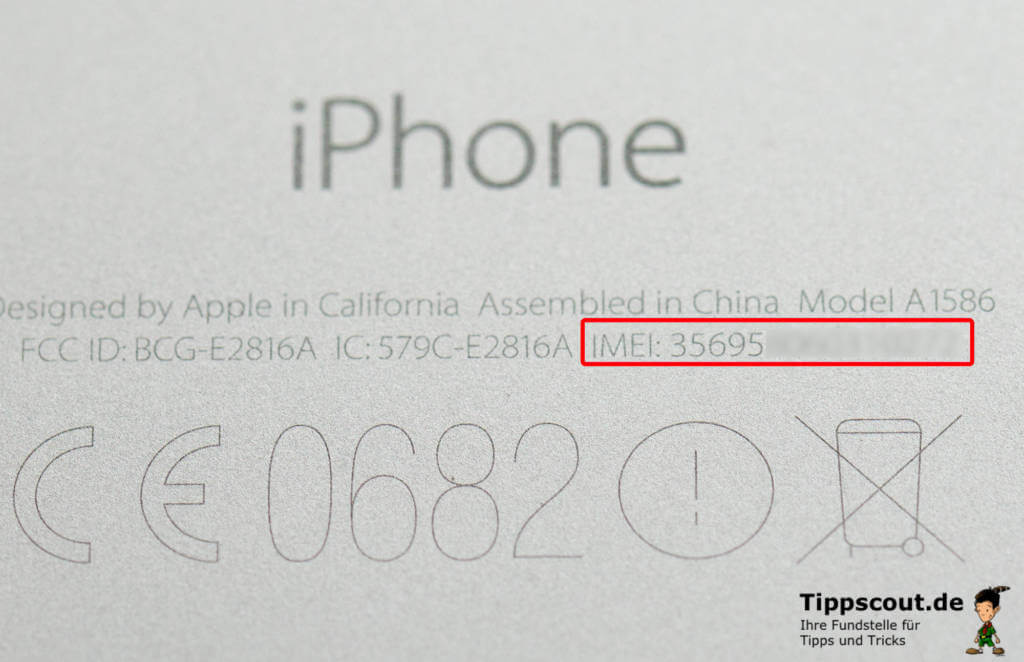 iPhone IMEI herausfinden
