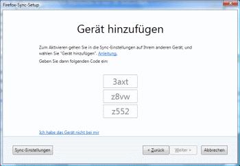 Firefox 4 Kurzcode anzeigen