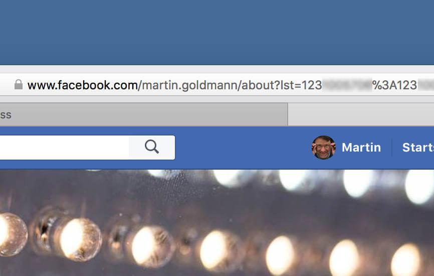 Facebook-ID herausfinden