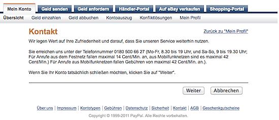 Paypal Konto Löschen Tippscoutde