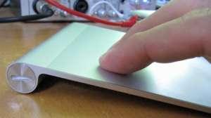 Trackpad-Gesten im Einsatz