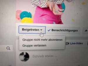 facebook-gruppe-verlassen