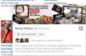 Youtube Abo kündigen