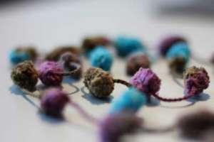 Pompon-Wolle - (Foto: Markus Schraudolph)
