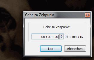 Zeitpunkt in einem Video anwählen mit dem VLC media player