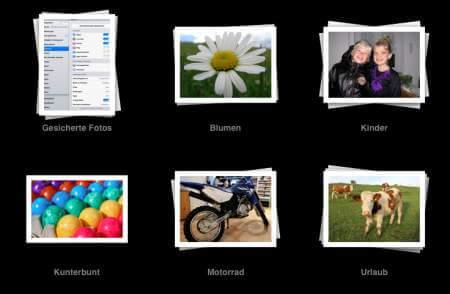 Beispielalbum iPad