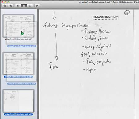 wie kann ich aus mehreren pdf dateien eine machen mac