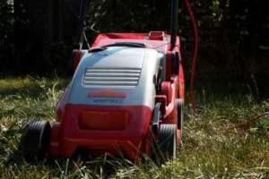 Rasenmäher mit Mulch-Funktion