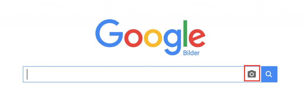 Mit einem Klick auf das Fotosymbol starten Sie die Suchfunktion nach Bildern.