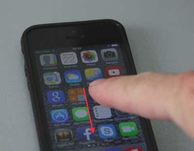iOS7 Suchfunktion aufrufen - (Foto: tippscout/ms)