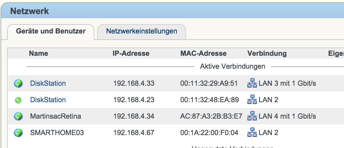 IP-Adresse der Synology Diskstation finden | Tippscout de