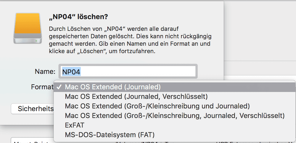 Sd Karte Formatieren Macbook.Mac Festplatte Formatieren Oder Usb Stick Sd Karte Tippscout De