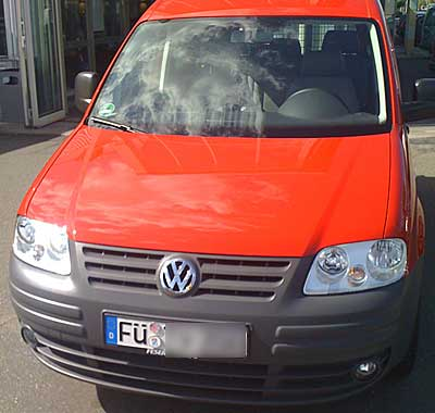 Gebrauchter VW Caddy - (Foto: Martin Goldmann)