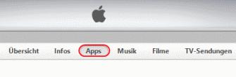 iTunes Reiter Apps