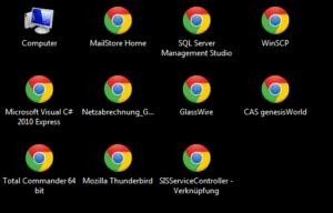 Desktop zeigt falsche Icons für EXE-Dateien an